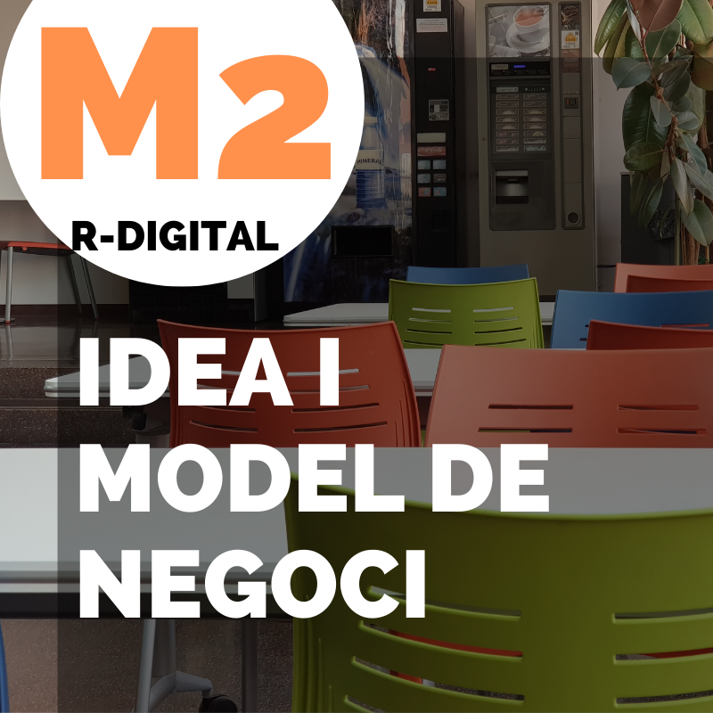 M2 - IDEA I DE MODEL DE NEGOCI